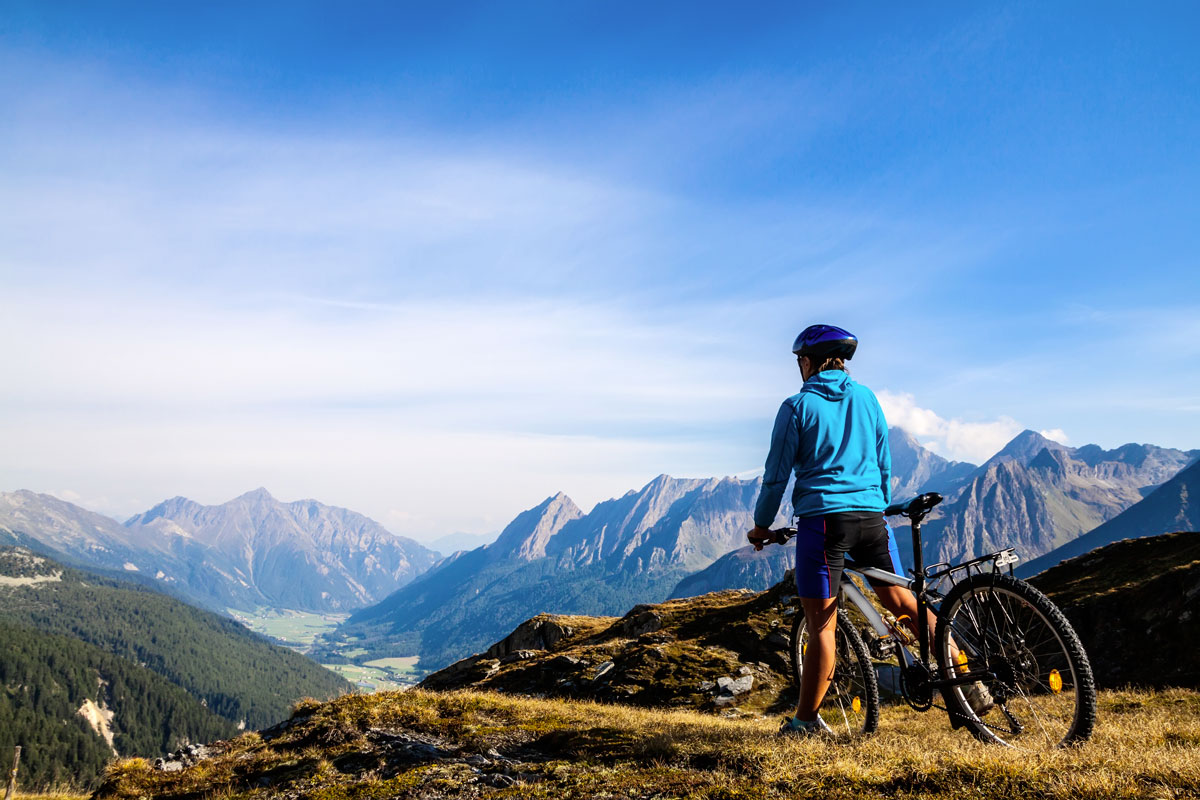 In Mountain Bike intorno a Livigno